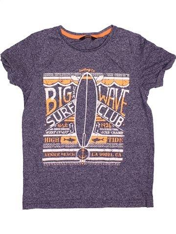 Camiseta de manga corta niño GEORGE violeta 9 años verano #1493980_1