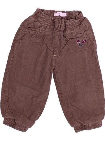 Pantalon fille GEMO violet 18 mois hiver #1494225_1