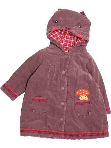 Abrigo niña DPAM marrón 2 años invierno #1494273_1