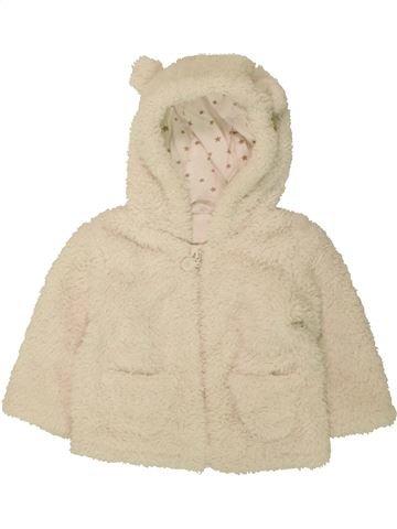 Veste unisexe F&F blanc 9 mois hiver #1494306_1