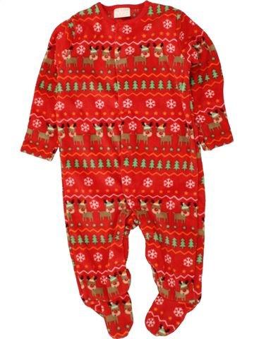 Bata niño F&F rojo 6 meses invierno #1494323_1