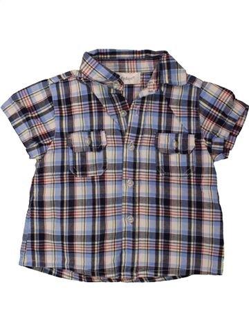 Chemise manches courtes garçon PRIMARK violet 9 mois été #1494343_1