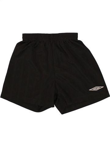 Pantalon corto deportivos niño UMBRO negro 6 años verano #1494577_1