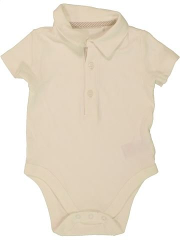 Polo manches courtes garçon MOTHERCARE beige 6 mois été #1494578_1