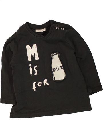 T-shirt manches longues garçon NEXT noir 9 mois hiver #1494609_1