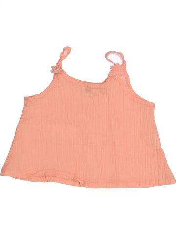 Camiseta sin mangas niña 3 POMMES rosa 2 años verano #1494612_1