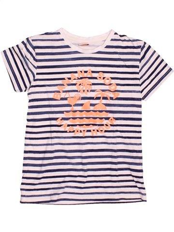 T-shirt manches courtes fille TAPE À L'OEIL gris 8 ans été #1494723_1