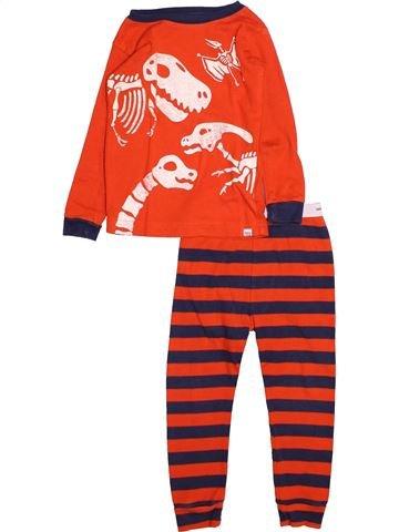 Pyjama 2 pièces garçon GAP blanc 2 ans hiver #1494786_1