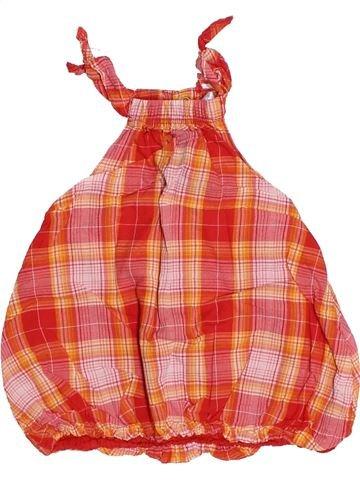 Vestido niña KIABI naranja 3 meses verano #1494794_1