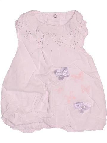 Vestido niña GEMO blanco 3 meses verano #1494805_1