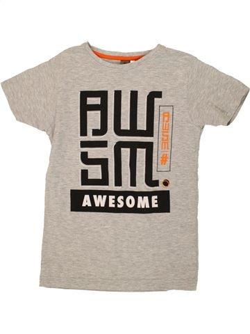 T-shirt manches courtes garçon URBAN 65 OUTLAWS beige 10 ans été #1494838_1