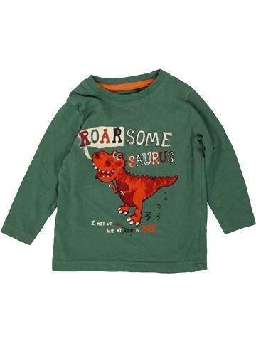 Camiseta de manga larga niño PEP&CO verde 12 meses invierno #1494894_1