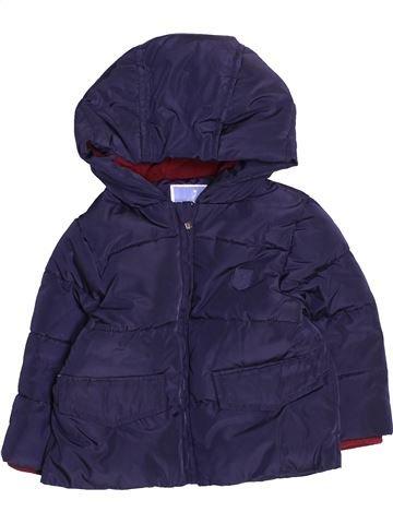 Plumífero niño JACADI azul 18 meses invierno #1494942_1