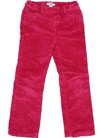 Pantalon fille OKAIDI rose 6 ans hiver #1494950_1