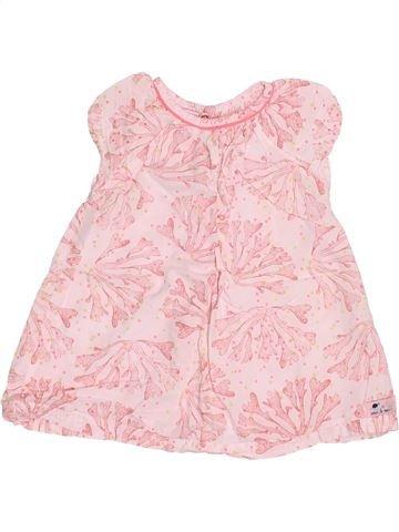 Robe fille DPAM rose 3 mois été #1495021_1