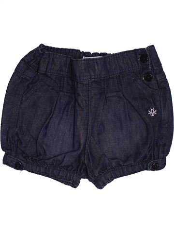 Short-Bermudas niña OKAIDI azul 6 meses verano #1495041_1