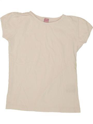 T-shirt manches courtes fille DOPODOPO bleu 8 ans été #1495050_1
