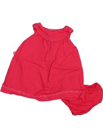 Robe fille OKAIDI rouge 1 mois été #1495070_1