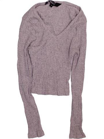 Camiseta de manga larga niña NEW LOOK gris 9 años invierno #1495189_1