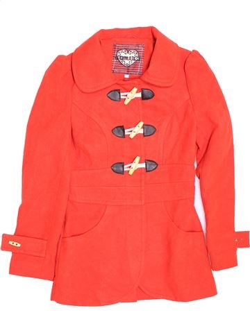 Manteau fille NEW LOOK rouge 11 ans hiver #1495204_1