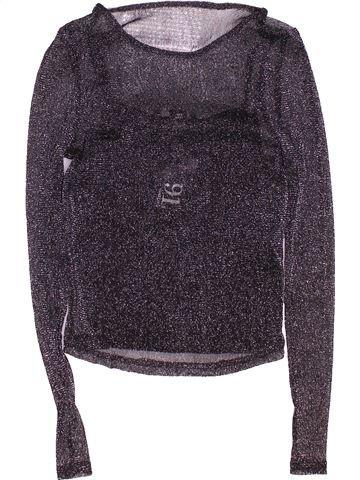 Camiseta de manga larga niña NEW LOOK gris 9 años invierno #1495242_1