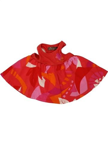 Vestido niña JEAN BOURGET rojo 12 meses verano #1495318_1