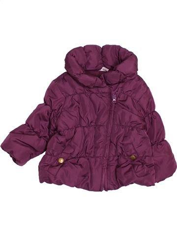 Doudoune fille F&F violet 6 mois hiver #1495348_1