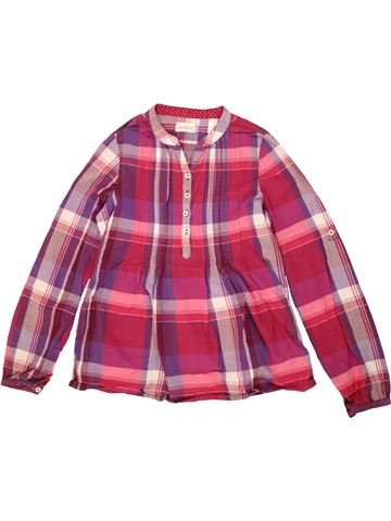 Blouse manches longues fille OKAIDI rose 12 ans hiver #1495419_1
