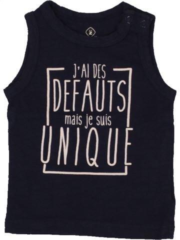 Top - Camiseta de tirantes niño GRAIN DE BLÉ negro 3 meses verano #1495466_1