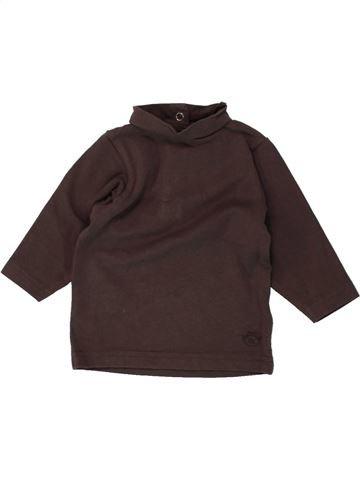 Camiseta de cuello alto niña ORCHESTRA marrón 3 meses invierno #1495494_1