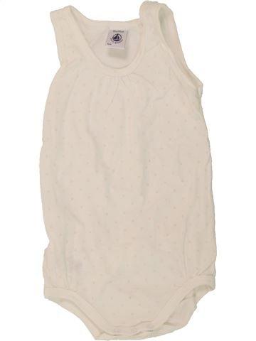 T-shirt sans manches fille PETIT BATEAU violet 18 mois été #1495524_1