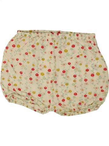 Short - Bermuda fille BOUT'CHOU beige 9 mois été #1495539_1