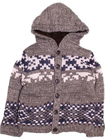 Gilet garçon M&CO gris 6 ans hiver #1495547_1
