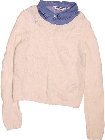 Pull fille NEW LOOK beige 13 ans hiver #1495568_1