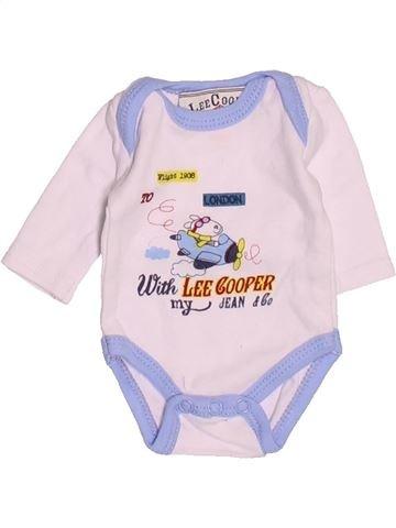 T-shirt manches longues garçon LEE COOPER blanc prématuré hiver #1495625_1