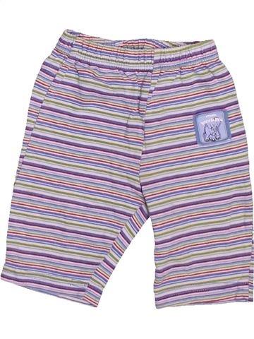 Pantalon garçon BERTI violet naissance été #1495827_1