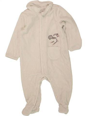 Pyjama 1 pièce fille SERGENT MAJOR beige 6 mois hiver #1495866_1