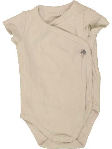 Camiseta de manga corta niña SERGENT MAJOR beige 3 meses verano #1495878_1