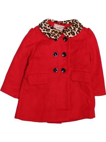 Abrigo niña NEXT rojo 18 meses invierno #1495980_1