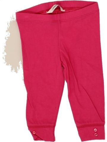 Legging niña 3 POMMES rosa 6 meses invierno #1496065_1