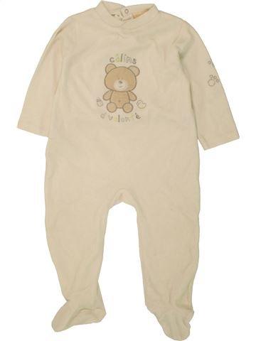 Pijama de 1 pieza niño GEMO beige 2 años invierno #1496071_1
