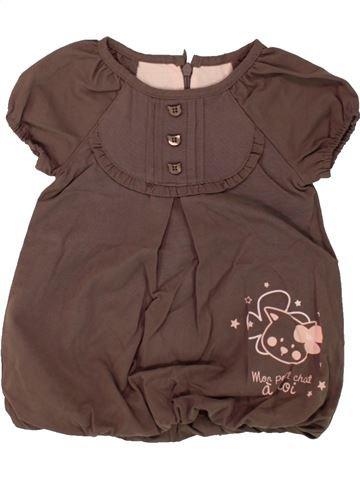 Vestido niña KIMBALOO marrón 6 meses invierno #1496073_1
