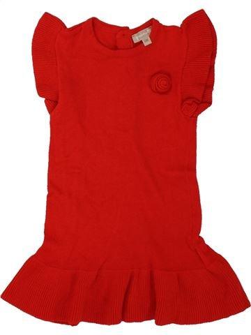 Vestido niña GRAIN DE BLÉ rojo 12 meses invierno #1496100_1