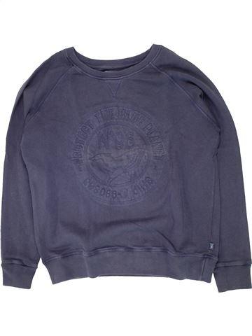 Sudadera niño OKAIDI violeta 12 años invierno #1496170_1