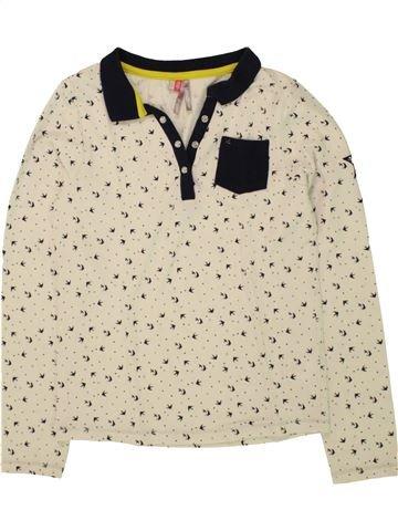 Polo de manga larga niña ORCHESTRA beige 10 años invierno #1496184_1