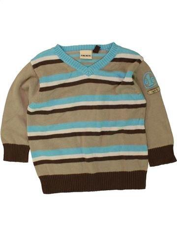 jersey niño IKKS gris 12 meses invierno #1496237_1