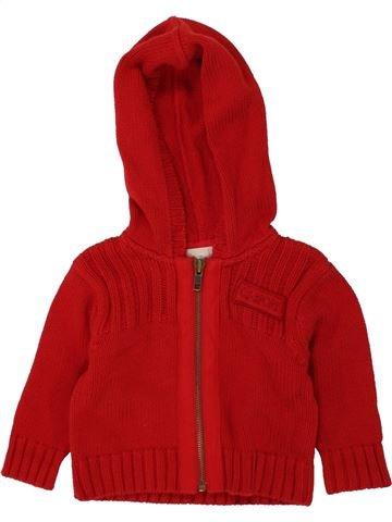 Chaleco niño CYRILLUS rojo 6 meses invierno #1496243_1