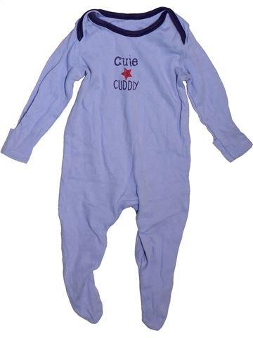 Pijama de 1 pieza niño GEORGE azul 3 meses verano #1496259_1