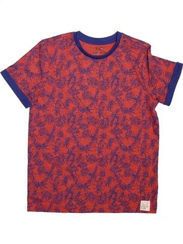 T-shirt manches courtes garçon F&F violet 8 ans été #1496344_1