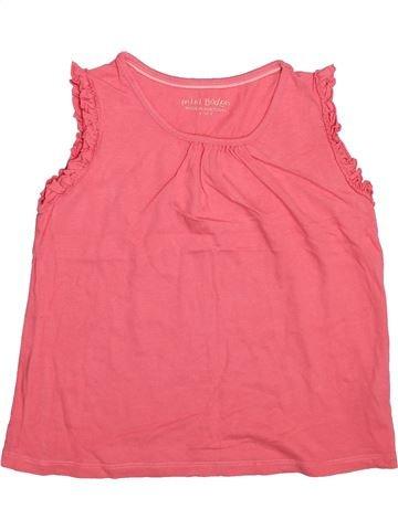 Camiseta sin mangas niña MINI BODEN rosa 10 años verano #1496361_1